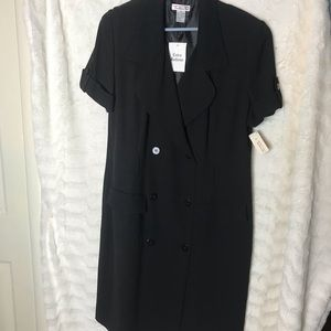 Nwt Womens Talbots Black Dress